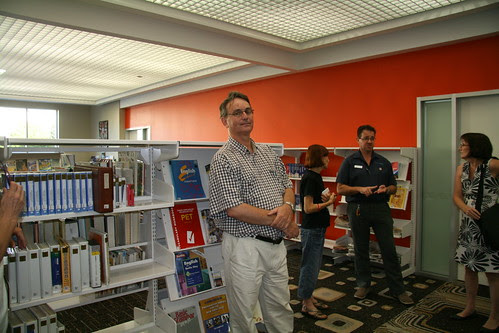 ALIA tour of Casuarina Public Library