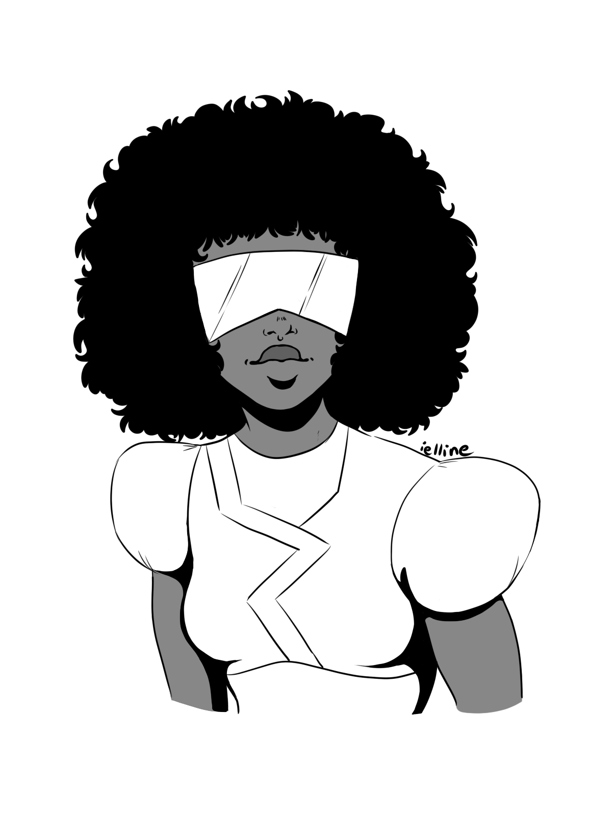 Inktober - Favorites females characters Day 6: Garnet