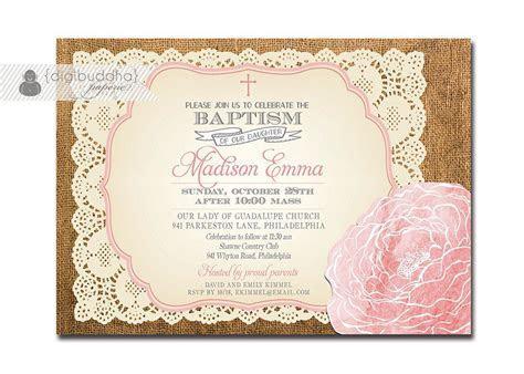 Christening Invitation Card Maker : Christening Invitation