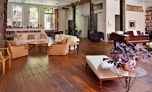 Inspiring Shabby Chic Loft With Rustic And Bohemian Touches | DigsDigs