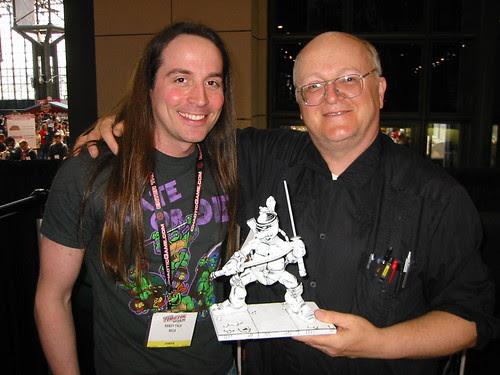 Peter Laird & Randy Falk of NECA  [[ Courtesy of SteveMurphy ]]