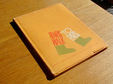 Saul Bass -  Henri's walk to paris c1962