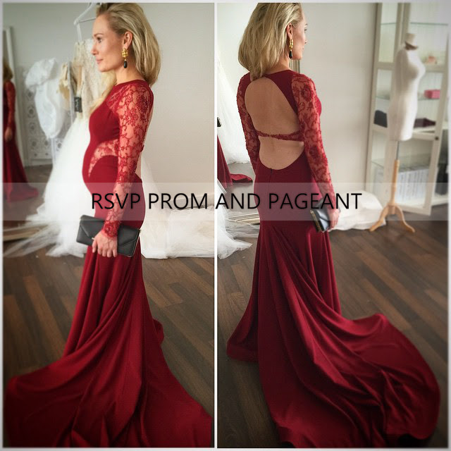 Maternity evening dresses america