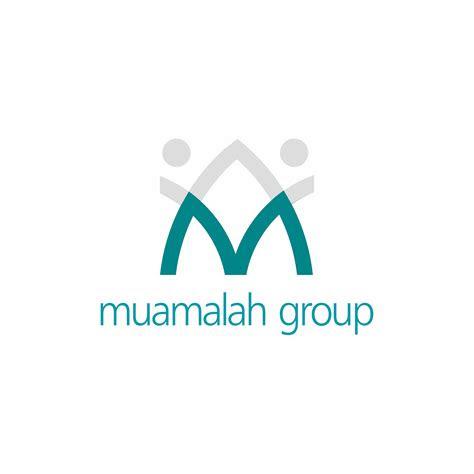 desain logo muamalah group kebun design branding