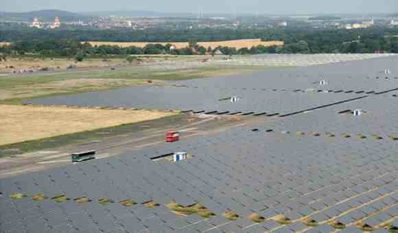 Waldpolenz Solar Park, was the world's largest photovoltaic power system in 2008 at 40 MW output. The just completed Shams 1 is the world's largest solar power system at 100 MW. [Source: Wikipedia]