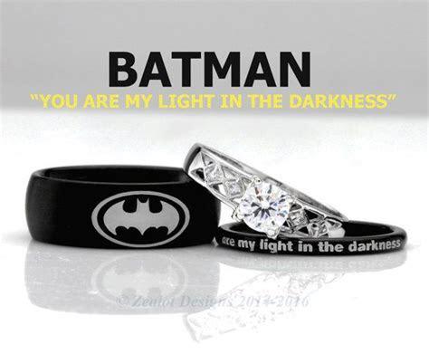 Best 25  Batman wedding rings ideas on Pinterest   Batman