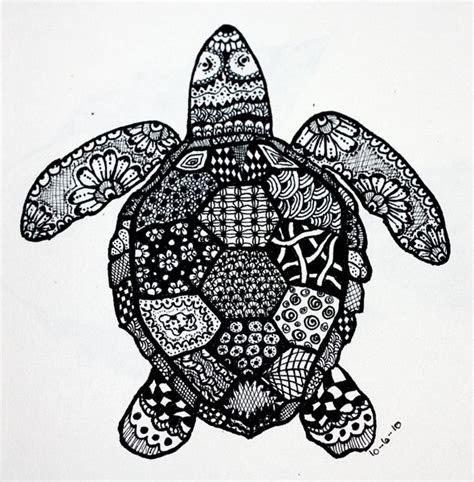 zendoodle turtle