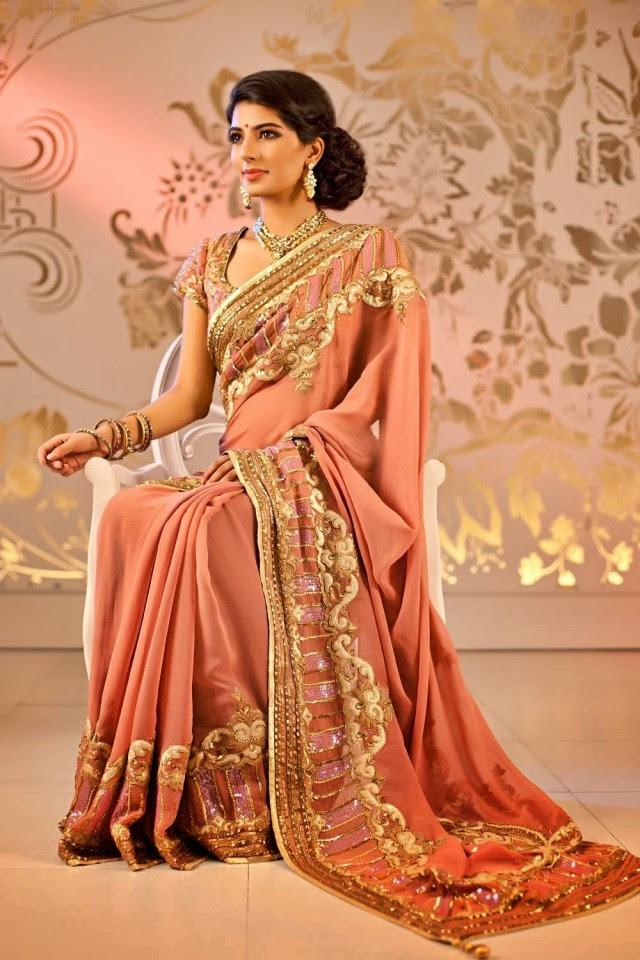 Bridal-Wedding-Formal-Casual-Party-Wear-Sarees-Dress-New-Fashion-Sari-for-Brides-by-Designer-Satya-Paul-6