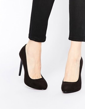 Zapatos de salón negros Cadles de Faith