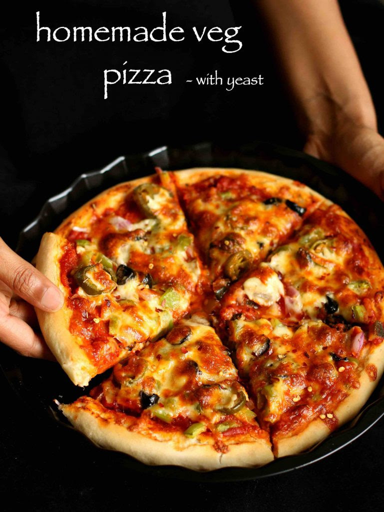 veg pizza recipe   veggie pizza recipe   vegetable pizza ...