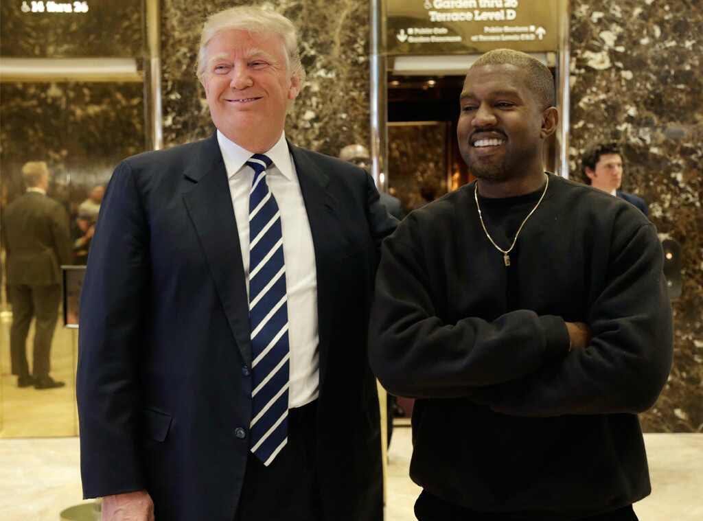 Resultado de imagen para kanye west donald trump