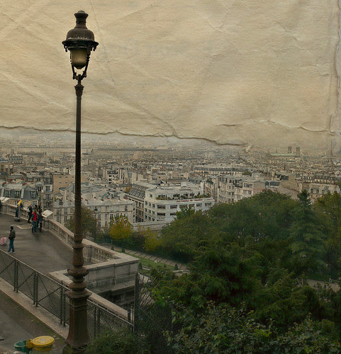 1096 Paris-Montmartre Early Morning