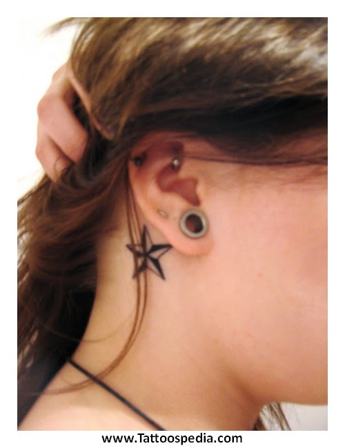 Star Tattoos Behind Ear Meaning 1