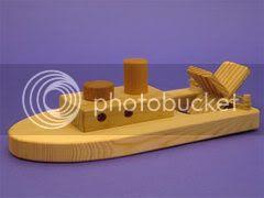 Paddle Wheel Boat
