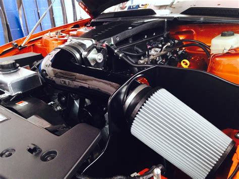 saleen dr  concept    supercharged engine build