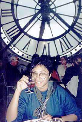 Musée d'Orsay cafe in old clock tower