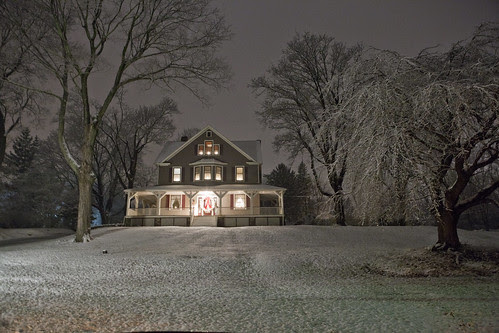 White Christmas in Rockland County, New York 2012