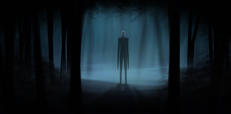 Slender Man Wallpaper