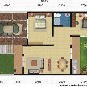 54 Koleksi Gambar Rumah Sederhana Ukuran 6x10 Terbaik