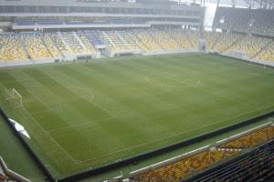 Сам стадион уже готов принимать матчи Евро-2012