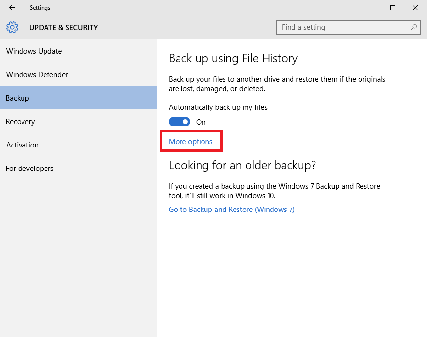 How to backup your files to the an External storage drive ...