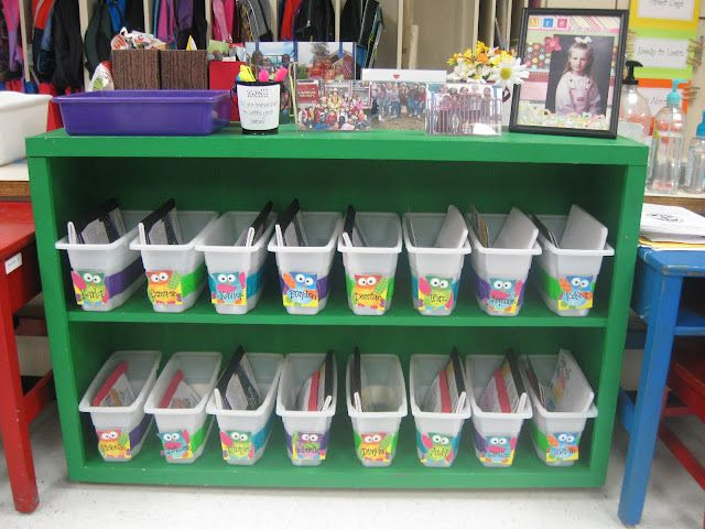 Book Boxes using Walmart ice bins and colored duct tape