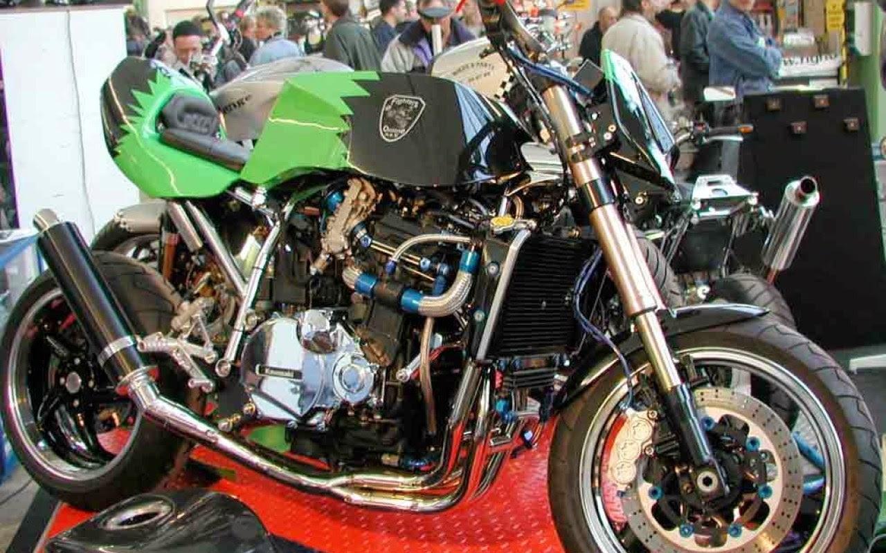 Download Ide 61 Modifikasi Motor Honda Jadi Harley Terlengkap