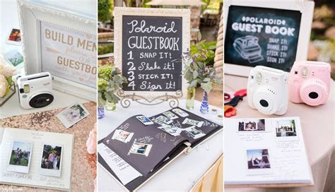 Top 20 Polaroid Wedding Guest Books   Roses & Rings