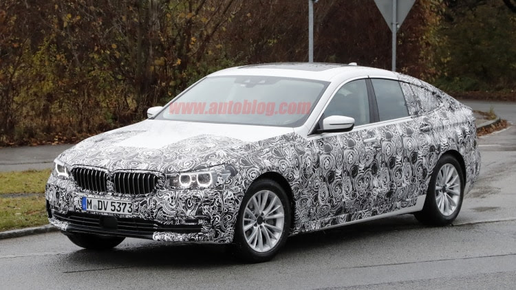 BMW's next Gran Turismo model shows off a little more roofline ...