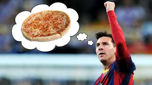 Rahasia kekuatan Messi, gak makan  Pizza !