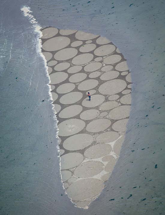 Εξωπραγματική τέχνη σε παραλίες από τον Jim Denevan (3)