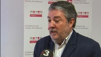El secretari general de la Confederació de Comerç de Catalunya, Miquel Àngel Fraile