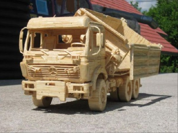 1622 Impressive Matchsticks Vehicles (20 photos)
