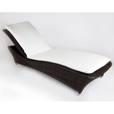 BOGA Furniture Moon Light Chaise Lounge with Cushion | AllModern