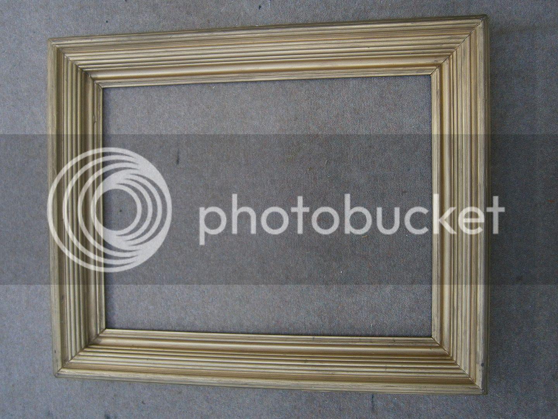 Antique Frame Sale Large Reeded Gilt Frame