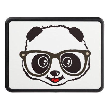 Cute Panda Trailer Hitch Cover