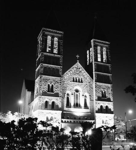 St Bernard's at Night
