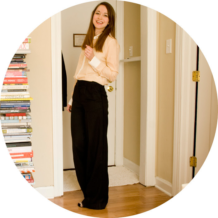 february outfit, dash dot dotty, black pants, hutton trousers, zara blouse, sheer and stars