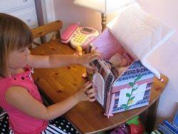 Самодельные домики для кукол
