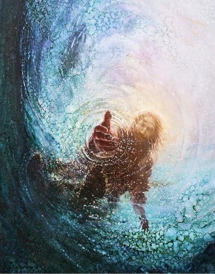 ¿Por qué dudastes? Pedro se Hunde en el mar | La Vida de Jesucristo