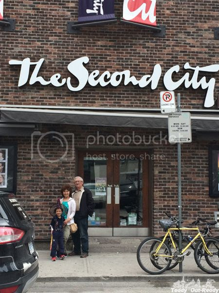 The Second City Entrance