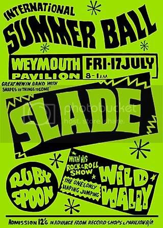 17th July 1970, Weymouth with Ruby Spoon & Wild Wally