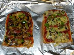 Birthday 'pizza'