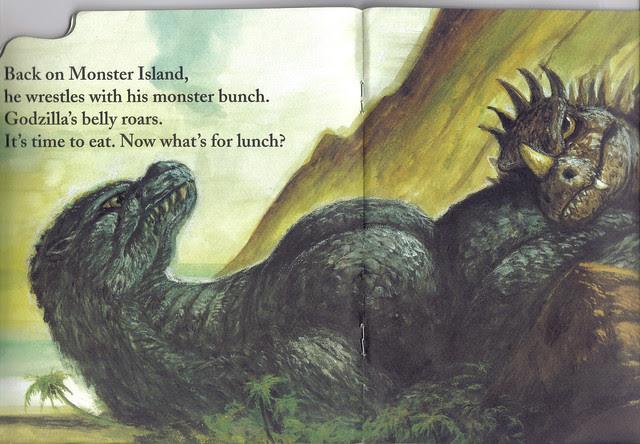 Godzilla likes to Roar! 8