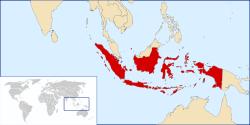 Lokasi Indonesia
