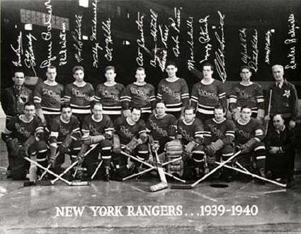 New York Rangers 1939-40