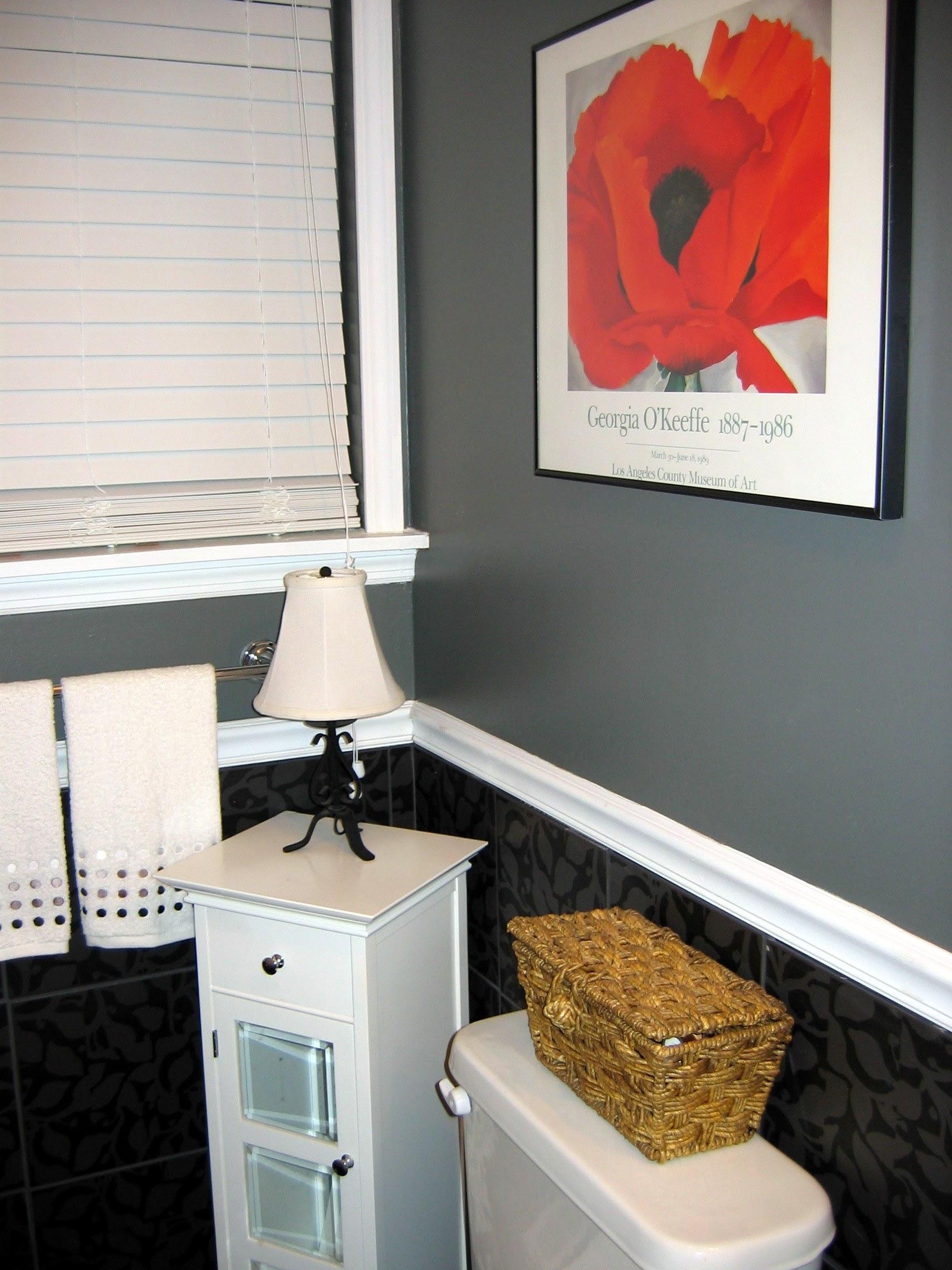 Shower Curtain Monogram | Janice Ferguson Sews