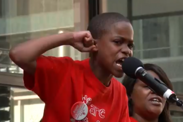9-year-old slams Rahm over Chicago schools