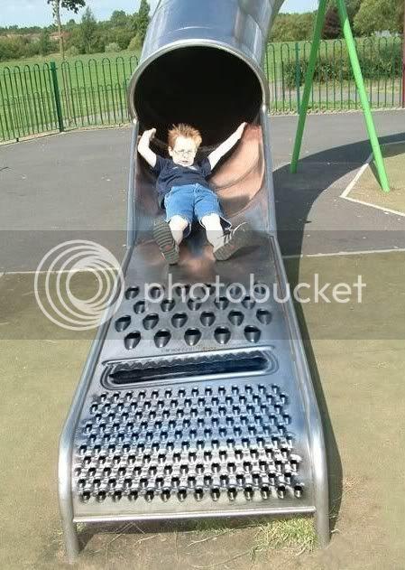 cheese grader slide