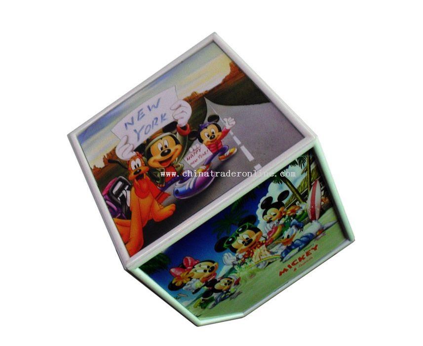 Wholesale Rotating Cube Photo Frame Buy Discount Rotating Cube Photo